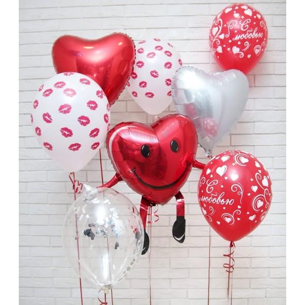 Сет из воздушных шариков Любовь#12