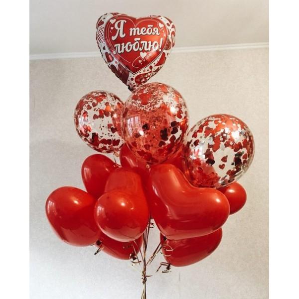 Сет из воздушных шариков Любовь#14
