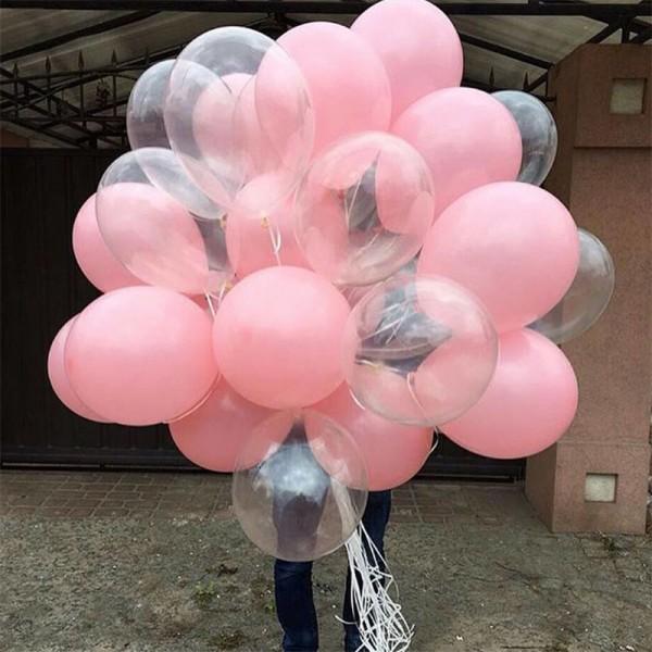 """Облако воздушных шаров """"Нежность в руках """""""