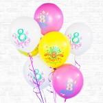 """Облако воздушных шаров """"Весенний праздник"""""""