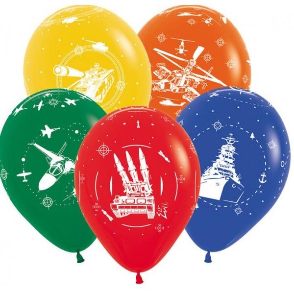 Воздушные шарики 9 Мая Техника