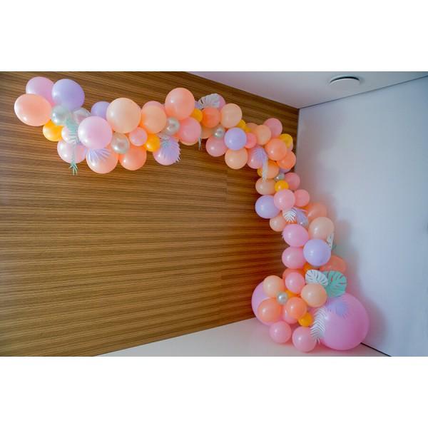 Арка из воздушных шариков «Разнокалиберная» Композиция № 6