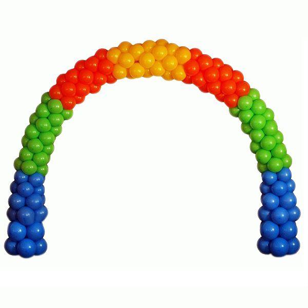 Арка из воздушных шариков «Яркий праздник»