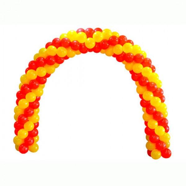 Арка из воздушных шариков «Двухцветная»