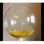 Bubble (Баблс с белыми перьями) 24/61 см.