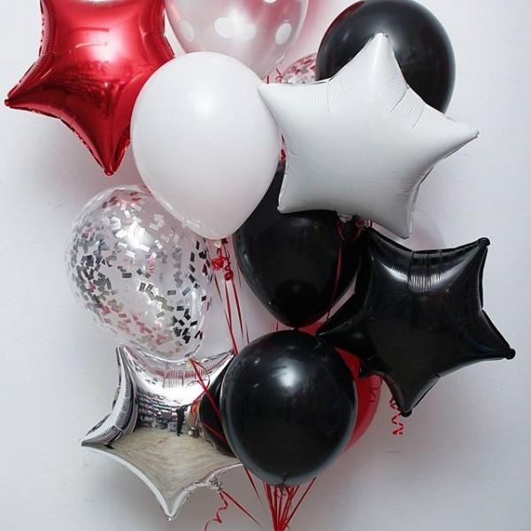 Букет из воздушных шариков Праздничный