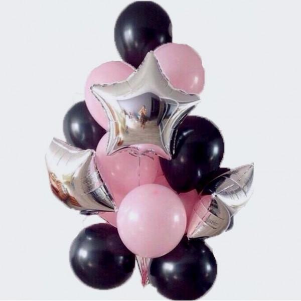 Букет из воздушных  шариков Гламур