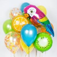 Композиция из воздушных шаров Джунгли
