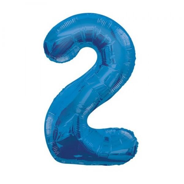 Цифра 2 Синяя (100см)
