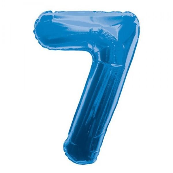 Цифра 7 Синяя (100см)
