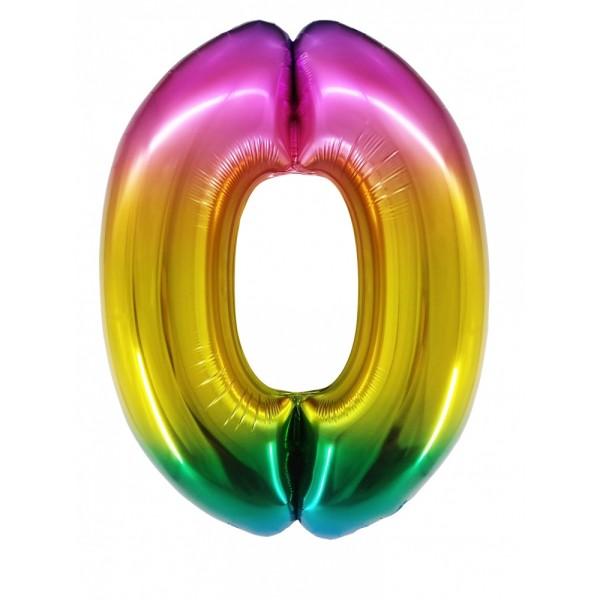 Цифра 0 Градиент (100 см)