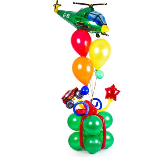 Фигура из воздушных шариков Для мальчика