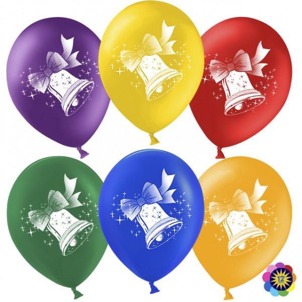 Воздушные латексные шарики Колоколчики