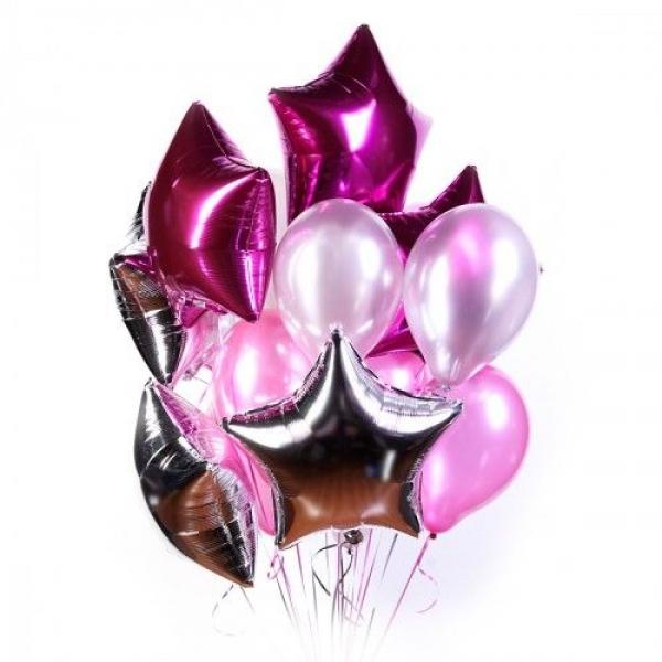 Букет из воздушных  шариков Восторг