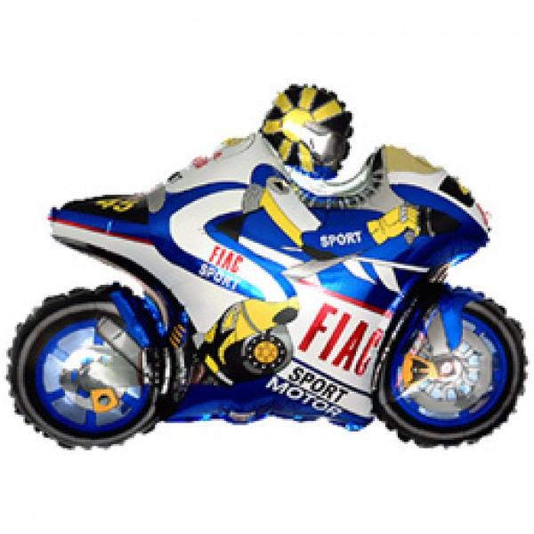 Шар фольгированная фигура Мотоцикл ( 38/97 см )