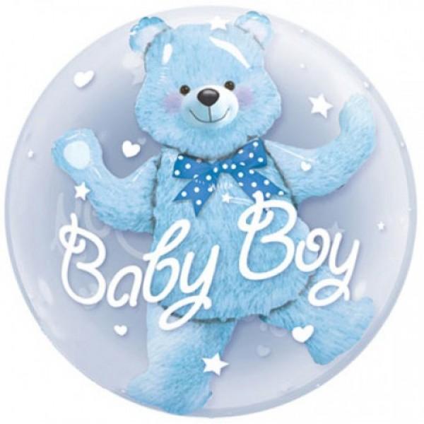 Шар фольгированный Медвежонок (Мальчик)