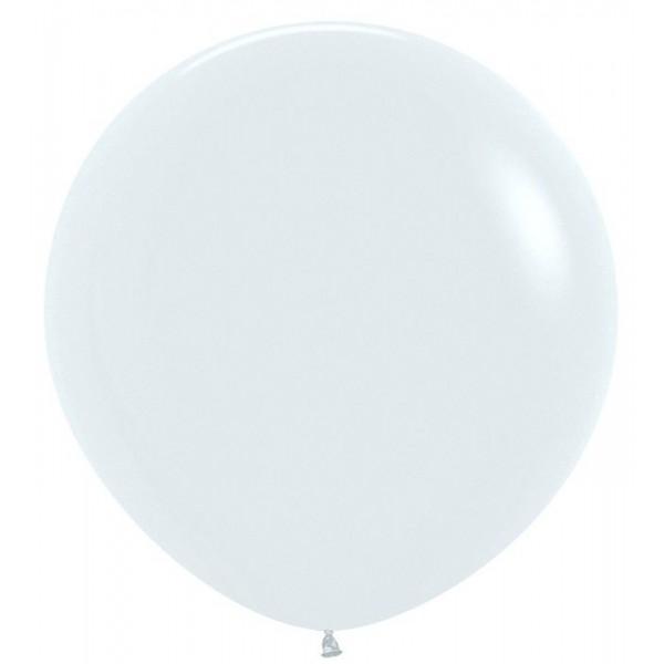 Шар-гигант Белый 100см