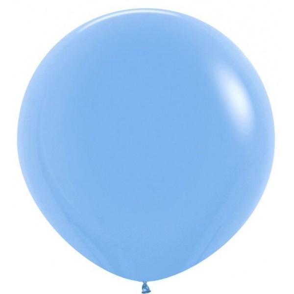 Шар-гигант Голубой 100см