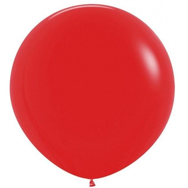 Шар-гигант Красный 100см