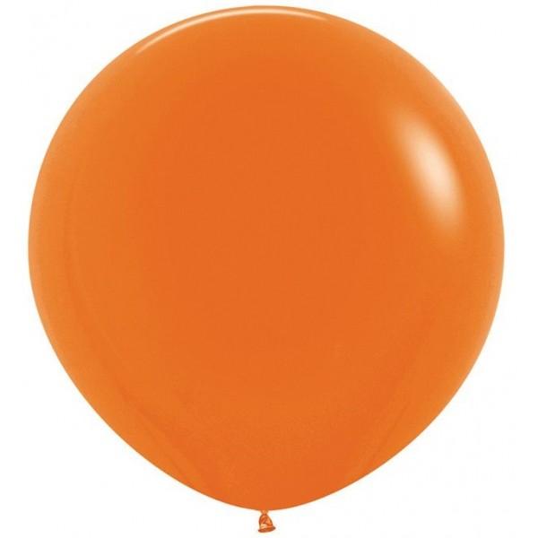 Шар-гигант  Оранжевый 100см