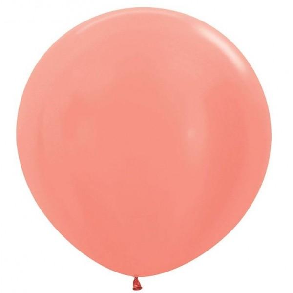Шар-гигант Розовое Золото 100см