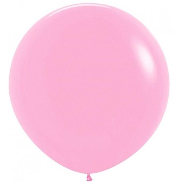 Шар-гигант Розовый 100см