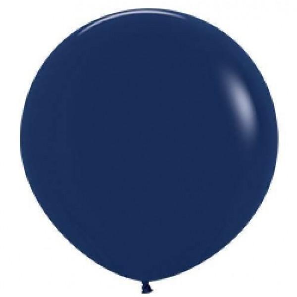 Шар-гигант Темно-синий 100см