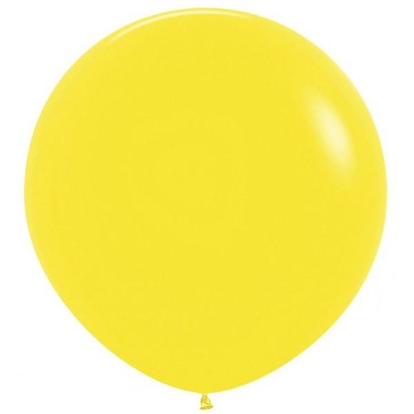 Шар-гигант  Желтый 100см