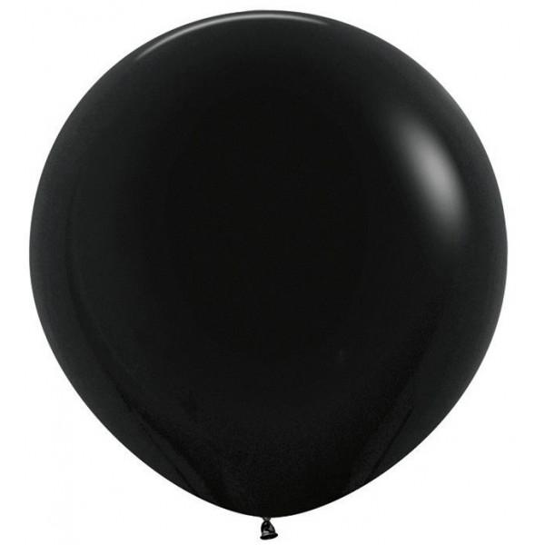 Шар-гигант Черный 100см
