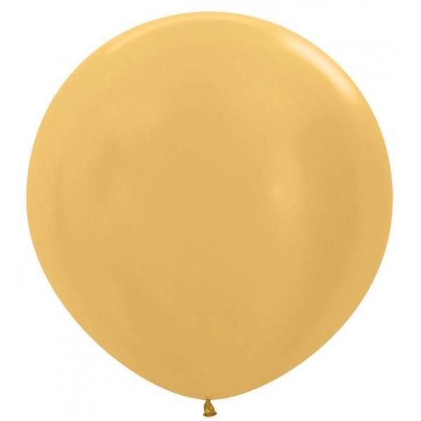 Шар-гигант Золотой 100см