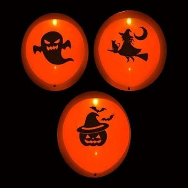 Светящиеся шарики, Хэллоуин, Ведьмы ( 12/30 см )