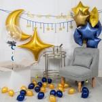 Композиция из воздушных шариков Небосвод