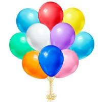Облако из воздушных шариков  Ассорти  Пастель