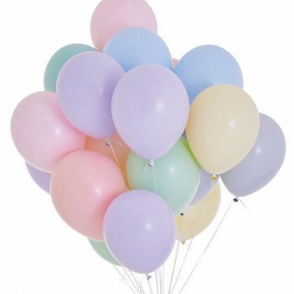 Облако из воздушных шариков Макарунс, Ассорти