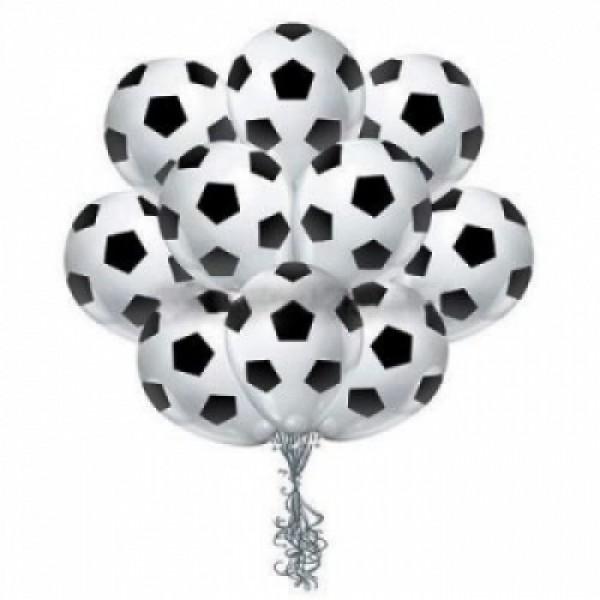Облако из воздушных шариков  Футбол