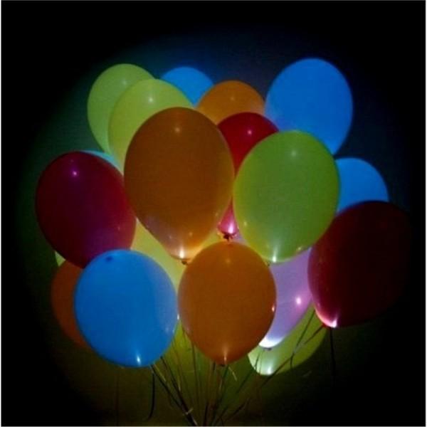 Облако светящихся шаров (Ассорти)