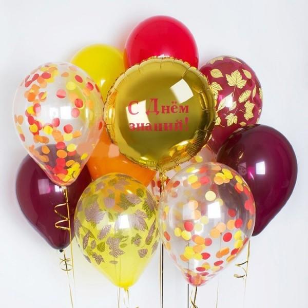 Букет из воздушных шариков День знаний!