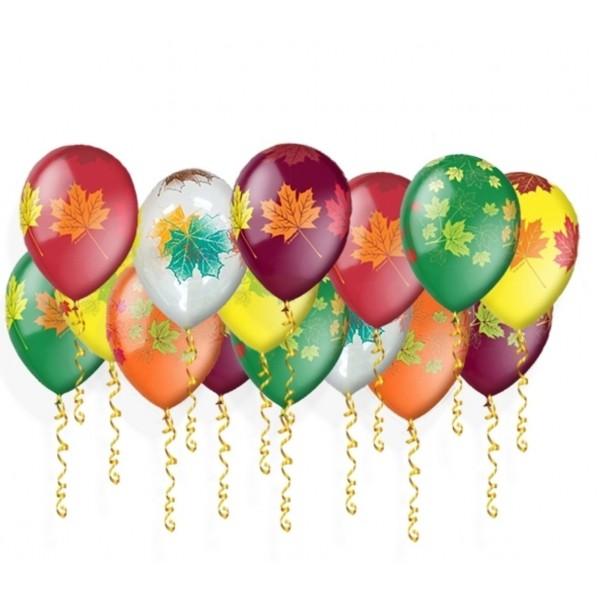 Воздушные шарики Осенние листья